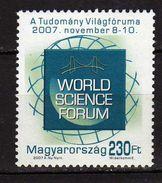 HUNGARY 2007.World Science Forum. MNH - Hongrie