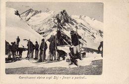 ALPINI  , Esercitazioni  Con  Gli  Sci  , Cuneo - Regiments