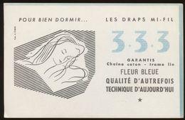 Buvard - DRAPS MI-FIL 333 Coton Et Lin - Buvards, Protège-cahiers Illustrés
