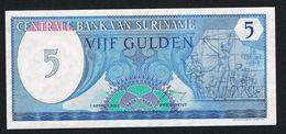 ) SURINAME  5 GULDEN 1982 FDC - Surinam