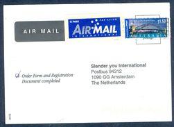 G181- Postal Used Cover. Posted From Australia To Netherlands. Sydney Olympic. Bridge. - Australia