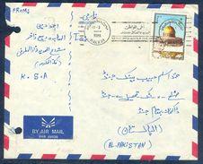 G196- Postal Used Cover. Posted From Saudi Arabia To Pakistan. Mosque. Masjid. Al-Quds. - Saudi Arabia