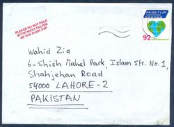 G200-  Postal Used Cover. Posted From Netherlands To Pakistan. - Netherlands