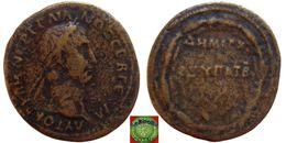 Roman Empire - CAPPADOCIA - Caesarea AE28 Of Trajan (98-117 AD), DHMAPX EX YΠAT B, Laurel Wreath - 3. Province