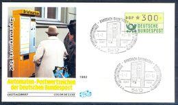 G201- Deutschland Germany Postal History Cover. ATM Machine Label Stamp. - [5] Berlin