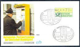 G202- Deutschland Germany Postal History Cover. ATM Machine Label Stamp. - [5] Berlin