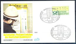 G203- Deutschland Germany Postal History Cover. ATM Machine Label Stamp. - [5] Berlin