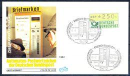 G204- Deutschland Germany Postal History Cover. ATM Machine Label Stamp. - [5] Berlin