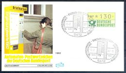 G205- Deutschland Germany Postal History Cover. ATM Machine Label Stamp. - [5] Berlin