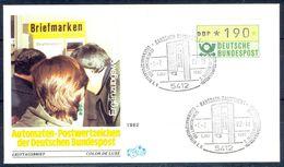 G206- Deutschland Germany Postal History Cover. ATM Machine Label Stamp. - [5] Berlin