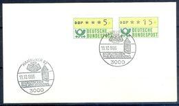 G207- Deutschland Germany Postal History Cover. ATM Machine Label Stamp. - [5] Berlin