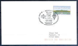 G209- Deutschland Germany Postal History Cover. ATM Machine Label Stamp. - [5] Berlin
