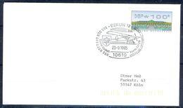 G212- Deutschland Germany Postal History Cover. ATM Machine Label Stamp. - [5] Berlin