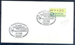G213- Deutschland Germany Postal History Cover. ATM Machine Label Stamp. - [5] Berlin