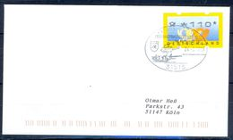 G215- Deutschland Germany Postal History Cover. ATM Machine Label Stamp. - [5] Berlin