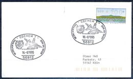 G217- Deutschland Germany Postal History Cover. ATM Machine Label Stamp. - [5] Berlin