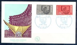 G218-  UNO. United Nation First Day Cover Year 1966. UNESCO. - UNO