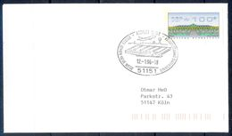 G220- Deutschland Germany Postal History Cover. ATM Machine Label Stamp. - [5] Berlin