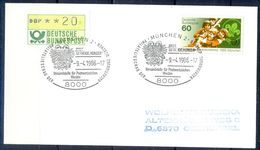 G222- Deutschland Germany Postal History Cover. ATM Machine Label Stamp. Scouts. - [5] Berlin