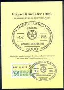G228- Deutschland Germany Postal History Post Card. ATM Machine Label Stamp. - [5] Berlin