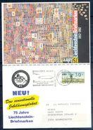 G231- Deutschland Germany Postal History Post Card. ATM Machine Label Stamp. - [5] Berlin