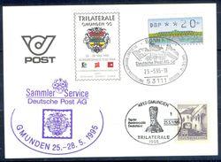 G232- Deutschland Germany Postal History Post Card. ATM Machine Label Stamp. - [5] Berlin