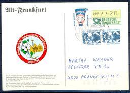 G234- Deutschland Germany Postal History Post Card. ATM Machine Label Stamp. - [5] Berlin