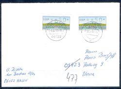 G237- Deutschland Germany Postal History Cover. ATM Machine Label Stamp. - [5] Berlin