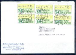 G240- Deutschland Germany Postal History Cover. ATM Machine Label Stamp. - [5] Berlin