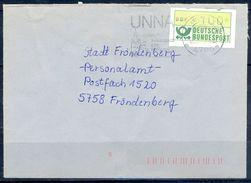 G241- Deutschland Germany Postal History Cover. ATM Machine Label Stamp. - [5] Berlin