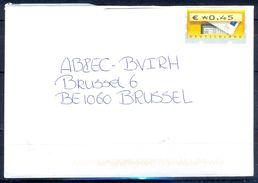 G245- Deutschland Germany Postal History Cover. ATM Machine Label Stamp. - [5] Berlin