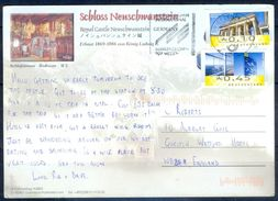 G246- Deutschland Germany Postal History Post Card. ATM Machine Label Stamp. - [5] Berlin