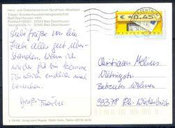 G249- Deutschland Germany Postal History Post Card. ATM Machine Label Stamp. - [5] Berlin