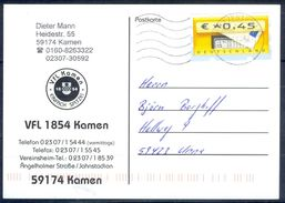 G250- Deutschland Germany Postal History Post Card. ATM Machine Label Stamp. - [5] Berlin