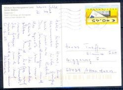 G251- Deutschland Germany Postal History Post Card. ATM Machine Label Stamp. - [5] Berlin
