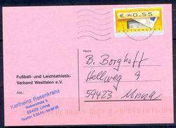 G254- Deutschland Germany Postal History Post Card. ATM Machine Label Stamp. - [5] Berlin
