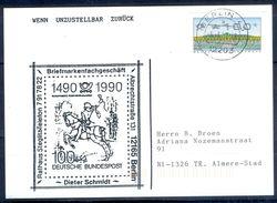 G256- Deutschland Germany Postal History Post Card. ATM Machine Label Stamp. - [5] Berlin