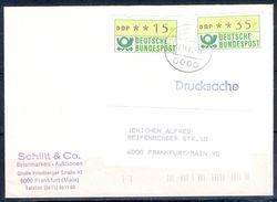 G259- Deutschland Germany Postal History Cover. ATM Machine Label Stamp. - [5] Berlin