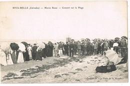 CPA 14  /  RIVA-BELLA /  MAREE BASSE / CONCERT SUR LA PLAGE / Animée / - Riva Bella
