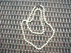 Lange Perlenkette  (489) - Collane/Catenine