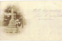 CPA N°1511 - CARTE PHOTO A IDENTIFIER - CALVAIRE OU CROIX - Cartes Postales