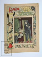 Early 20th Century Nude/ Nus Spanish Magazine Red & Green - Black And White Erotic/ Sexy Images Of Those Times - Books, Magazines, Comics