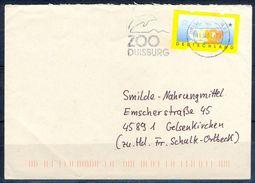 G260- Deutschland Germany Postal History Cover. ATM Machine Label Stamp. - [5] Berlin