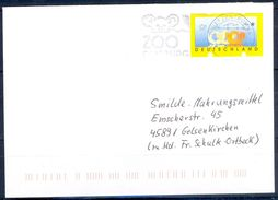 G261- Deutschland Germany Postal History Cover. ATM Machine Label Stamp. - [5] Berlin