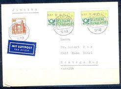 G262- Deutschland Germany Postal History Cover. ATM Machine Label Stamp. - [5] Berlin