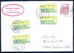 G264- Deutschland Germany Postal History Cover. ATM Machine Label Stamp. - [5] Berlin