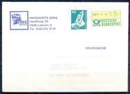 G266- Deutschland Germany Postal History Cover. ATM Machine Label Stamp. - [5] Berlin