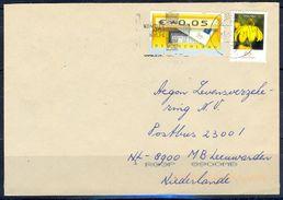 G267- Deutschland Germany Postal History Cover. ATM Machine Label Stamp. - [5] Berlin