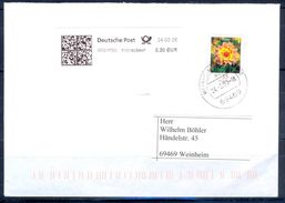 G268- Deutschland Germany Postal History Cover. Flowers. - Other