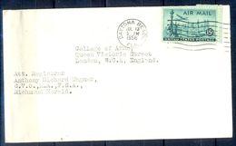 G281- USA United States Postal History Cover. Post To U.K. England. - United States